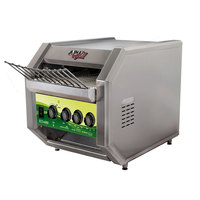 APW Wyott ECO-4000 QST 500L 10 inch Wide Conveyor Toaster with 1 1/2 inch Opening and Analog Controls