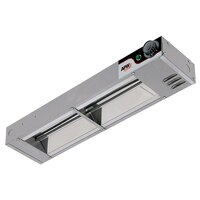 APW Wyott FD-30H-T 30 inch High Wattage Calrod Food Warmer with Toggle Controls - 760W
