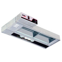 APW Wyott FDL-42H-T 42 inch High Wattage Lighted Calrod Food Warmer with Toggle Controls - 1260 Watt