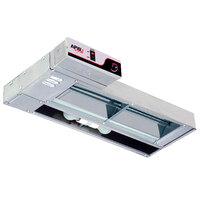 APW Wyott FDL-72H-I 72 inch High Wattage Lighted Calrod Food Warmer with Infinite Controls - 2220 Watt