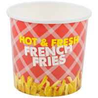 Choice 12 oz. French Fry Cup - 50/Pack