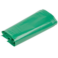 33 Gallon Recycled 1.25 Mil 33 inch X 39 inch Low Density Trash Can Liner / Bag - 200 / Case