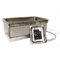 APW Wyott TM-90D UL Uninsulated Drop In Food Warmer with Drain - UL Listed