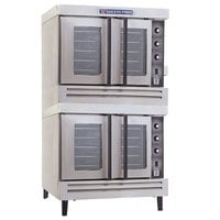 Bakers Pride BCO-E2 Cyclone Series Double Deck Full Size Electric Convection Oven - 10,500 Watt