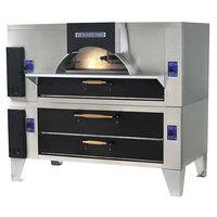 Bakers Pride FC-816/Y-800 IL Forno Classico Gas Double Deck Oven - 66 inch