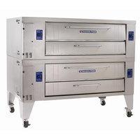 Bakers Pride Y-602 Super Deck Y Series Gas Double Deck Pizza Oven 60 inch - 240,000 BTU