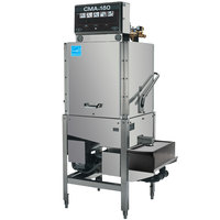 CMA Dishmachines CMA-180B-S Single Rack High Temperature Straight Dishwasher with Booster Heater