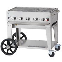 Crown Verity MCB-36 Portable Outdoor BBQ Grill / Charbroiler