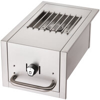 Crown Verity SB-BI Built-In Grill Side Burner - 15,000 BTU