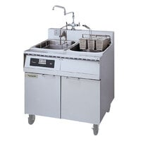 Frymaster 8SMS Pasta Magic Electric Pasta Cooker with Automatic Timed Basket Lifter and Separate Rinse Tank 8 kW