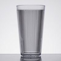 Carlisle 401607 Clear Crystalon Stack-All SAN Tumbler 16 oz. - 12/Case