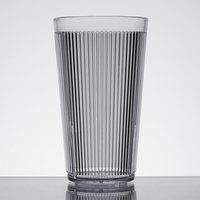 Carlisle 401607 16 oz. Clear Crystalon Stack-All SAN Plastic Tumbler - 12/Case