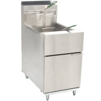 Dean SR62G Super Runner Gas Floor Fryer 60-75 lb.