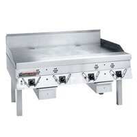 Garland CG-36R-01 36 inch Master Gas Production Griddle with Thermostatic Controls - 90,000 BTU