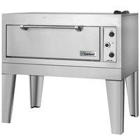Garland E2155 55 1/2 inch Triple Deck Roast / Bake Oven (2 Roast, 1 Bake) - 18.6 kW