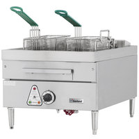 Garland E24-31SF 30 lb. Commercial Countertop Electric Super Deep Fryer - 16 kW