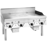 Garland ECG-72R 72 inch Master Electric Production Griddle - 25.8 kW