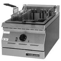 Garland ED-30FT Designer Series 34 lb. Dual Tank Electric Commercial Countertop Deep Fryer