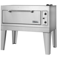 Garland G2121-71 55 1/4 inch Double Deck Gas Roast / Bake Oven - 80,000 BTU