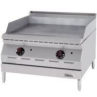 Garland GD-15GTH Designer Series 15 inch Countertop Griddle with Thermostatic Controls - 20,000 BTU