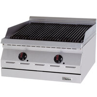 Garland GD-30RBFF Designer Series 30 inch Radiant Charbroiler with Flame Failure Protection - 75,000 BTU