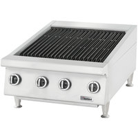 Garland GTBG60-NR60 60 inch Radiant Charbroiler with Fixed Grates - 180,000 BTU