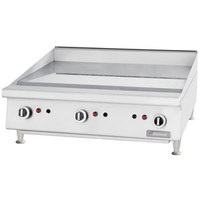 Garland GTGG24-G24 Gas Griddle Manual Control - 52,000 BTU