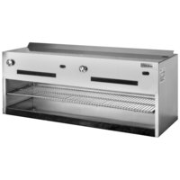 Garland IRCMA-60 60 inch Regal Series Countertop Cheese Melter - 50,000 BTU