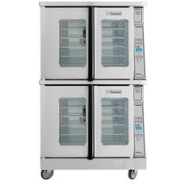 Garland MCO-ED-20 Double Deck Deep Depth Full Size Electric Convection Oven - 20.8 kW