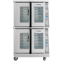 Garland MCO-ES-20 Double Deck Standard Depth Full Size Electric Convection Oven - 20.8 kW
