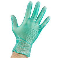 General Purpose Disposable Vinyl Glove 6.5 Mil Large - Green