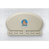 Koala Kare KB208-14 Sandstone Horizontal Oval Baby Changing Station
