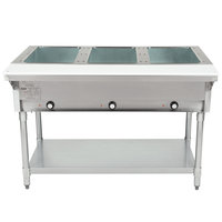 Eagle Group DHT3 Open Well Three Pan Electric Hot Food Table