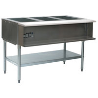 Eagle Group SHT3 Steam Table - Three Pan - Sealed Well