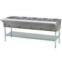 Eagle Group SHT5 Steam Table - Five Pan - Sealed Well