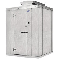 Nor-Lake Kold Locker 6' x 8' x 7' 7 inch Outdoor Walk-In Freezer with Floor