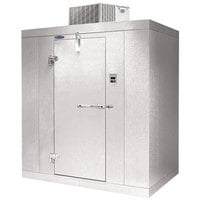 Nor-Lake Kold Locker 6' x 8' x 6' 7 inch Indoor Walk-In Freezer with Floor