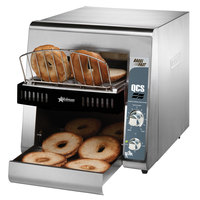 Star QCS2-1200B Bagel Fast Conveyor Toaster with 1 3/4 inch Opening