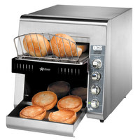 Star Holman QCS2-600H Conveyor Toaster with 3 inch Opening for Bagels