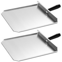Merrychef 400P-2 13 inch Stainless Steel Paddles for Merrychef eikon e4 and e6 Series Ovens - 2/Pack