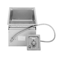 Wells MOD100TD 1 Pan Drop-In Hot Food Well with Drain - Thermostatic Control