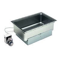 Wells SS206 Drop-In Rectangular Hot Food Well - Top Mount, Infinite Control