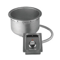 Wells SS8TU 7 Qt. Round Drop-In Soup Well - Top Mount, Thermostatic Control