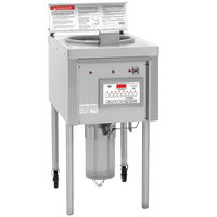 Winston Industries OF49C Collectramatic 64 lb. Electric Open Fryer