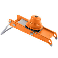 De Buyer 2015-O Swing Mandoline with Orange Finish and Julienne Blade