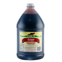 Fox's Grape Syrup - (4) 1 Gallon Containers / Case