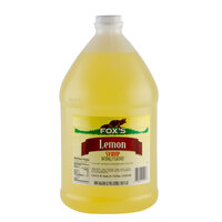 Fox's Lemon Syrup - (4) 1 Gallon Containers / Case
