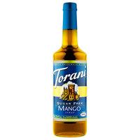 Torani 750 mL Sugar Free Mango Flavoring Syrup