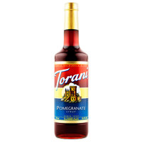 Torani 750 mL Pomegranate Flavoring Syrup