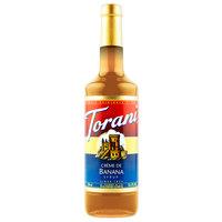 Torani 750 mL Creme de Banana Flavoring Syrup